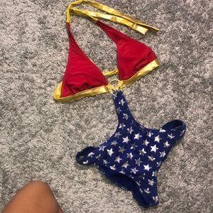 Other - Wonder women one piece swim suit